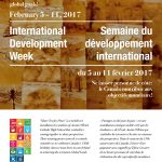 International Development Week 2017 Program