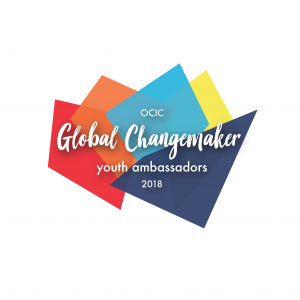 Meet OCIC Global Changemaker Youth Ambassadors 2018