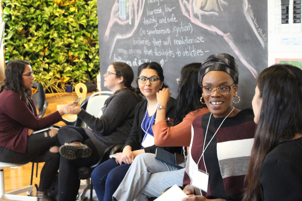 Group at Youth Policy-Makers Hub