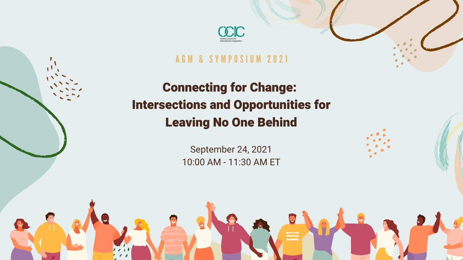 Connecting for Change:  Intersections and Opportunities for Leaving No One Behind