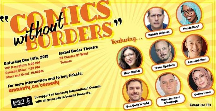 Comics Without Borders event banner
