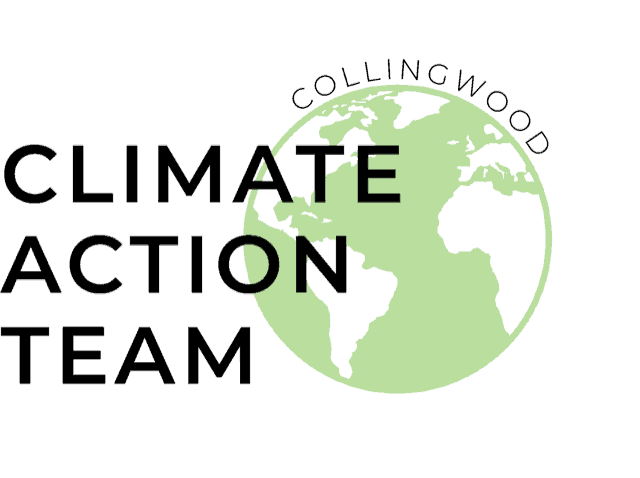 Collingwood Climate Action Team event banner