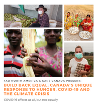 FAO and Care Canada event banner