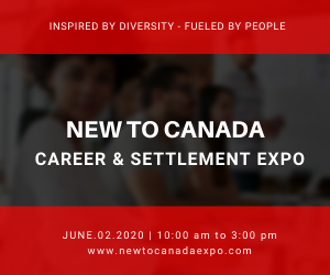 New To Canada Inc. event banner