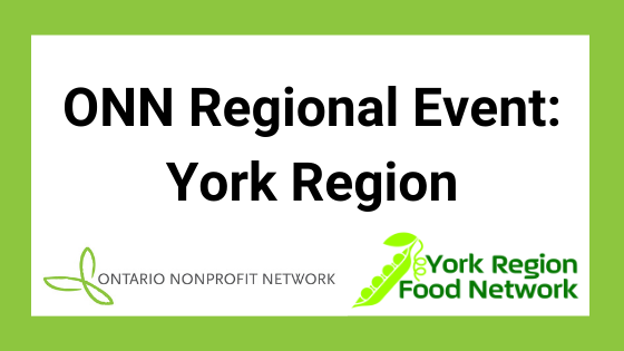 Ontario Nonprofit Network (ONN) event banner