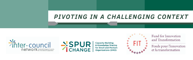 Inter-Council Network, FIT, Spur Change event banner
