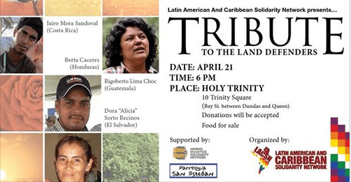 Latin American and Caribbean Solidarity Network event banner