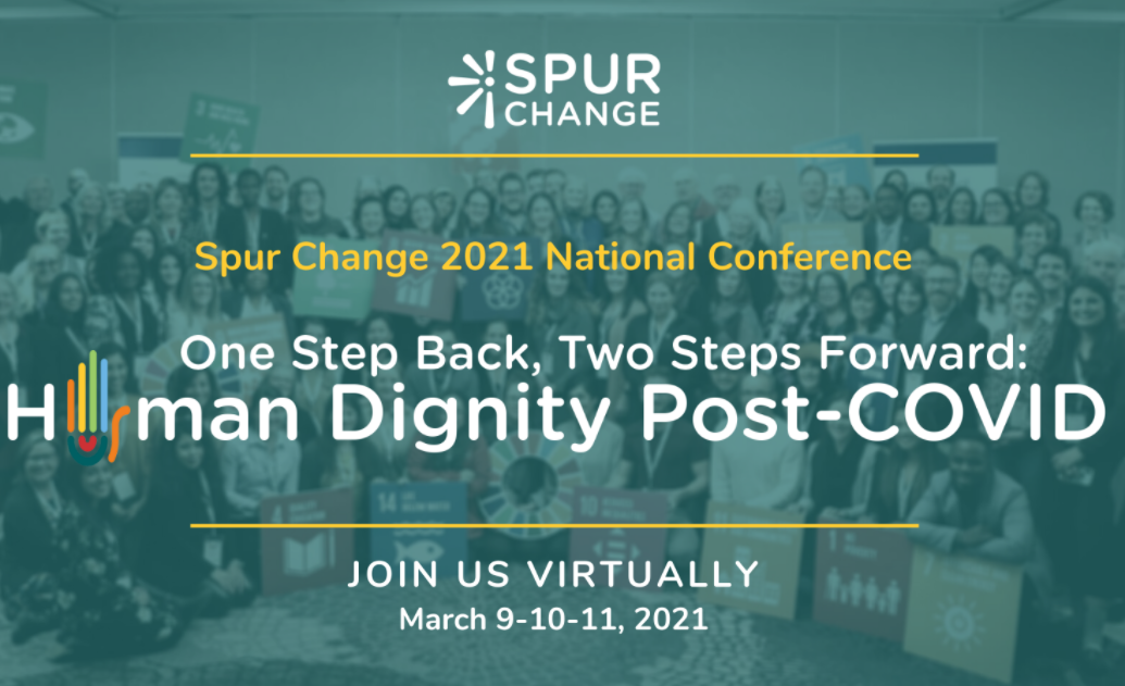 Spur Change event banner